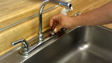 how to change faucet seats and springs youtube