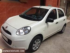 Voiture Nissan Micra : nissan micra 2014 essence voiture d 39 occasion casablanca prix 90 000 dhs ~ Nature-et-papiers.com Idées de Décoration