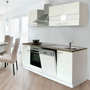 Küchenzeile 220 Cm Geschirrspüler : respekta k chenzeile kb220wwc breite 220 cm wei bauhaus ~ Bigdaddyawards.com Haus und Dekorationen