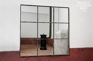 Grand Miroir Industriel : mobilier design sur ~ Melissatoandfro.com Idées de Décoration
