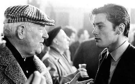jean gabin film monsieur jean gabin and alain delon i c o n s pinterest alain