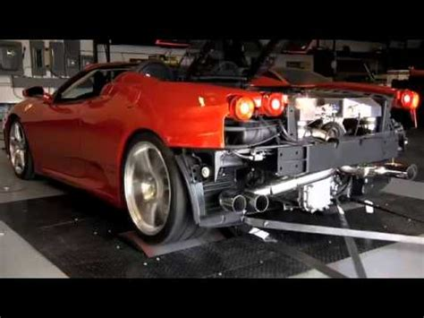 tuning ferrari   hp twin turbo youtube