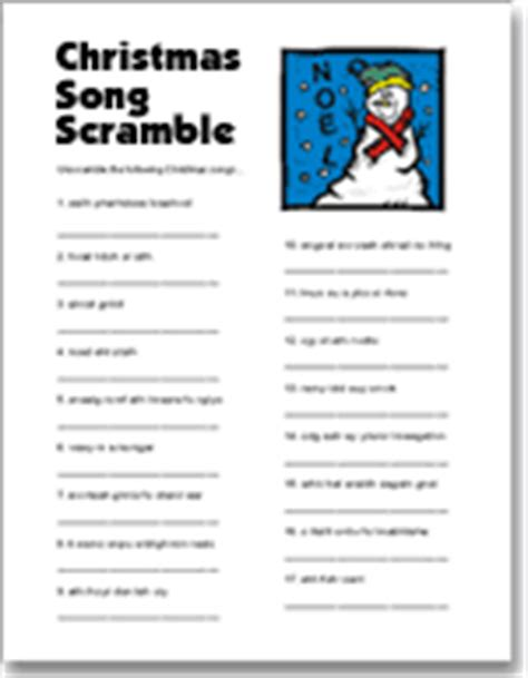 free printable christmas games for parties printable and free activities