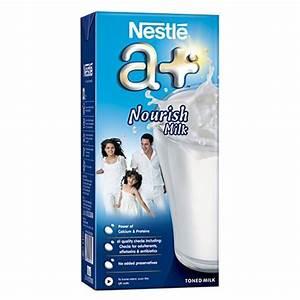 FMCG-Nestle a+ Milk - 1 Ltr. Tetra Pack