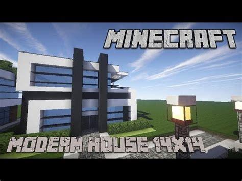 minecraft house tutorialmodern housex plot youtube