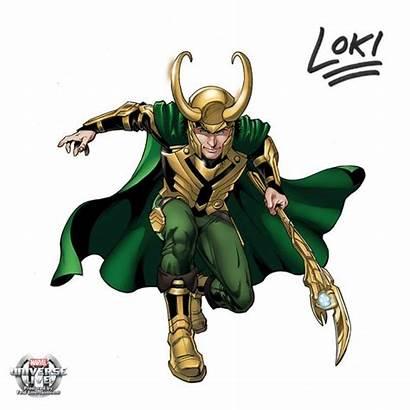 Loki Marvel Avengers Transparent Universe Character Comic