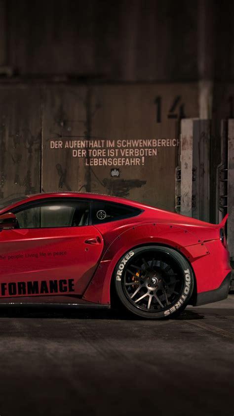 ferrari lb performance  italia red iphone