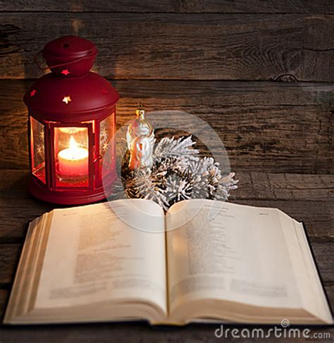 bible  christmas time stock photo image