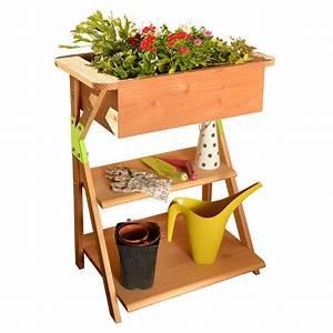 Jardinière En Hauteur : jardini re potag re bak garden k ~ Nature-et-papiers.com Idées de Décoration
