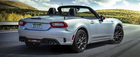 sporty fiat  spider   discontinued  europe