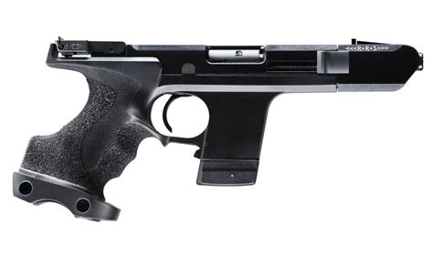 Hammerli Sp20 Rrs 22 Black, Right, L-grip (according To Walther M