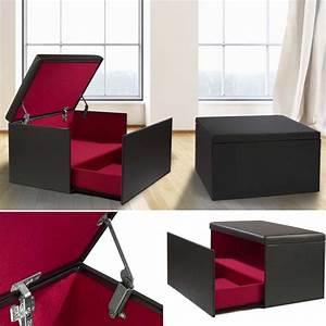 Coffre Rangement Chaussure : coffre rangement banquette luxe noir sp cial chaussures accessoire ~ Teatrodelosmanantiales.com Idées de Décoration