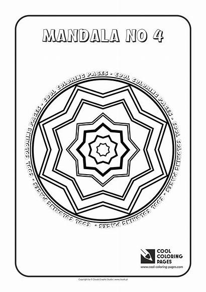 Coloring Cool Pages Mandalas Mandala Educational