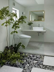 Amazing House Design in Japan - a garden inside the house