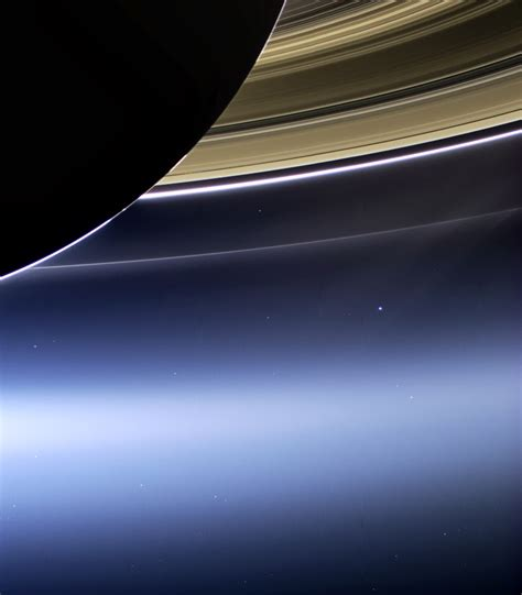 Journey The Edge Time Cassini Mission Earth Seen