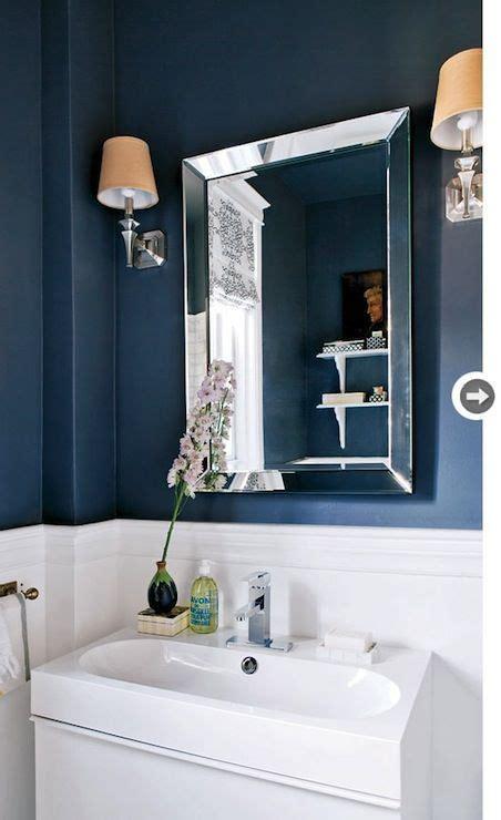 navy blue bathroom contemporary bathroom style