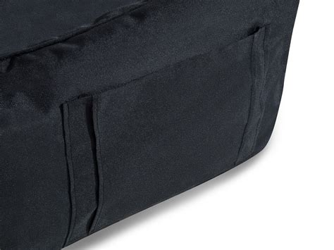 siege de sol pouf coussin de sol siège noir siesta