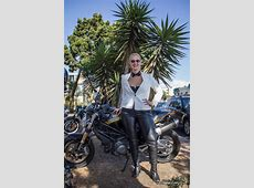 Distinguished Gentleman's Ride 2014 LA – Moto Lady