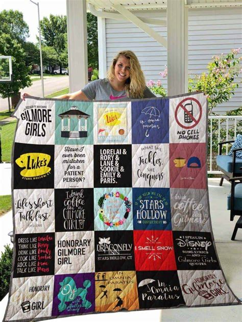 gilmore girls quilts societily