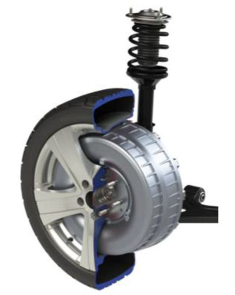 Electric Motor Company by Company Protean Electric Introduces In Wheel