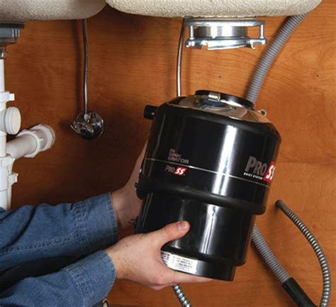 replacing a garbage disposal in a double sink garbage disposal repair installation how to replace