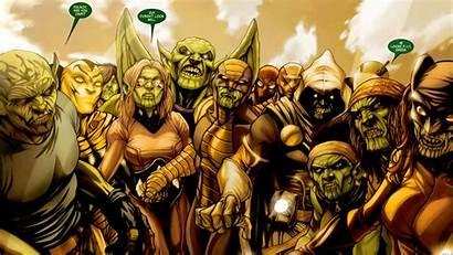 Skrulls Marvel Clix Characters Edition Trademark Fair