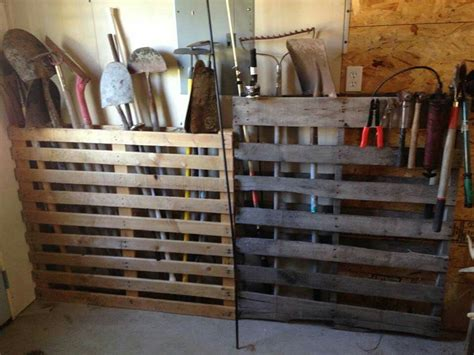 Garage Storage Ideas Garden Tools by A Clever Way To Organize Your Garden Tools Garage Ideas