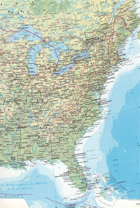 Usa Sehenswürdigkeiten Karte