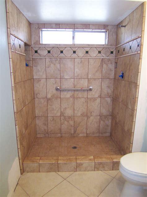 tile best shower stall tile installation small home