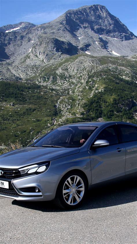 wallpaper lada vesta sports car city cars review test