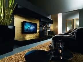 d 233 coration salon moderne en noir pour un int 233 rieur