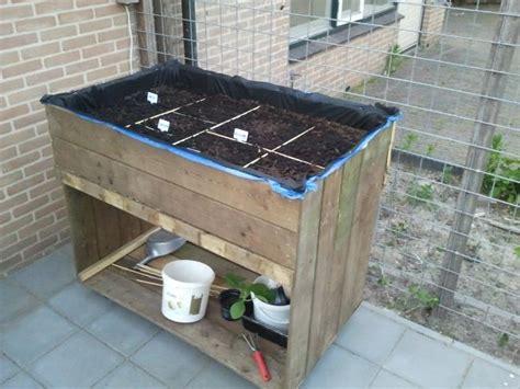 tuin zeil broeikas zelf verhoogde kruidenbak maken moestuin forum voor en