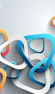 3d paper background vector design Free vector in ...