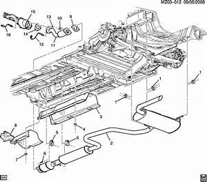 32 2008 Pontiac G6 Exhaust System Diagram