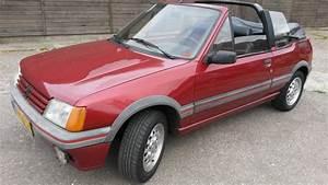 Peugeot 205 Cabriolet : peugeot 205 cti convertible 1987 catawiki ~ Medecine-chirurgie-esthetiques.com Avis de Voitures