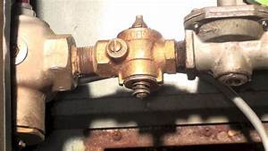 Leak Repair Of The Manual Valve Of The Gas Chain