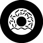 Svg Donut Donuts Sweet Bakery Dessert Icon