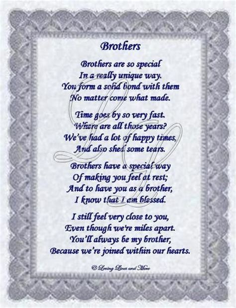 poems  sisters  brothers brother poem love