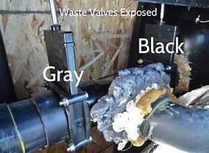 Rv Waste Tank Valve Replacement In Keystone Cougar 276rls