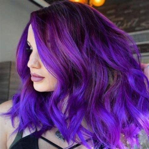 How To Dye My Dark Brown Hair To Dark Purple Quora