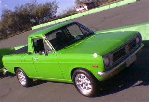 Chris's Green Datsun 1200 Ute