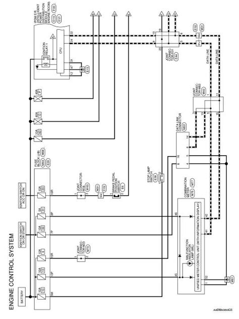 nissan rogue service manual wiring diagram engine control system engine