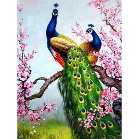 clearance sale royal peacocks diy 5d diamond painting