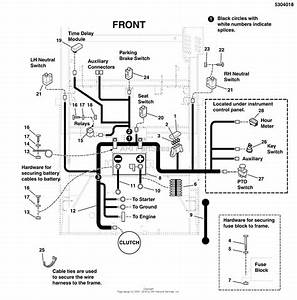 Massey Ferguson Xt1644 Riding Mower Wiring Diagram