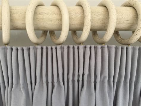 tutorial how to make a lined pencil pleat curtain