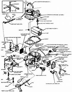 Rochester Quadrajet Carburetor Linkage Diagram