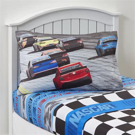 nascar race car sheet set home bed bath bedding