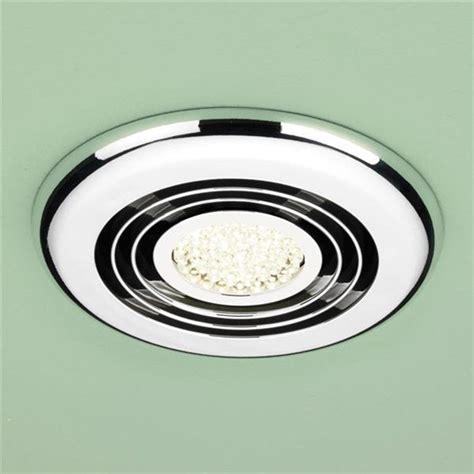 hib turbo led bathroom shower light ceiling ventilation extraction fan system ebay