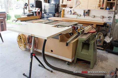flip  folding outfeed table   ryobi bt tablesaw