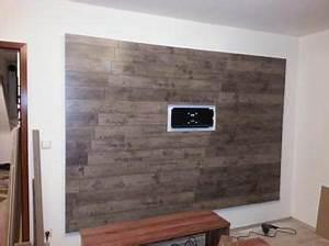 Tv An Wand Anbringen : laminat anbringen selfmade pinterest wand ~ Markanthonyermac.com Haus und Dekorationen